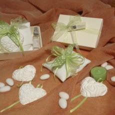 Le bellissime bomboniere realizzate per le nozze di Chiara e Marco